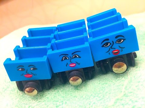 Thomas & Friends ADA, JANE & MABEL Wooden Railway Toy Train Review Character Friday