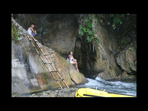 Swimming in Bakngeb River Cave, Laconon, T'boli, So Cot