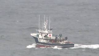 Fishing Vessels in Rough Seas
