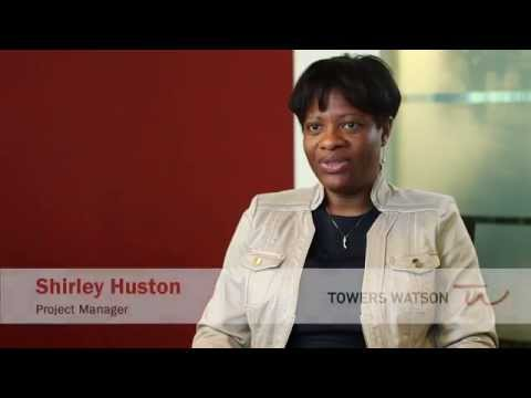 Towers Watson Provides An Experience Like No Other: Shirley