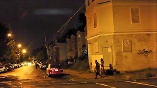 NEWARK NJ HOOD AT NIGHT