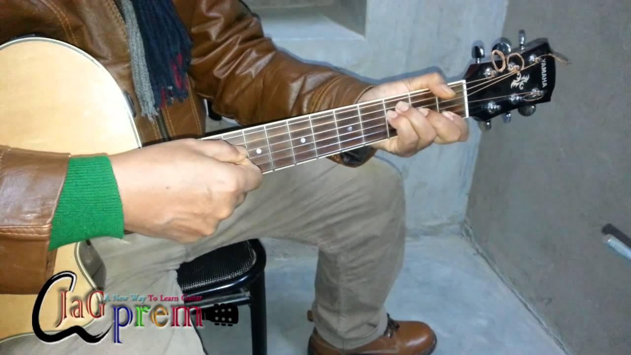 Guitar Tutorial Jeena Jeena Badlapur Atif Aslam Chords