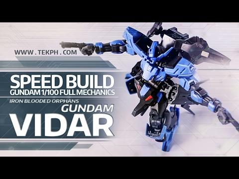 SPEED BUILD Gunpla - Gundam Vidar 1/100 Full Mechanics (Iron Blooded Orphans)