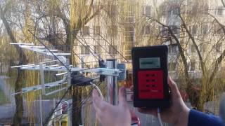 DVB-T/T2 signal measurements with digiair PRO T2 meter