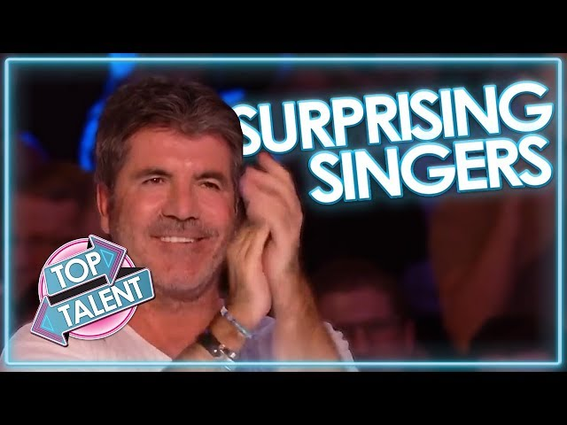 INCREDIBLE UNEXPECTED SINGERS on Got Talent   Top Talent