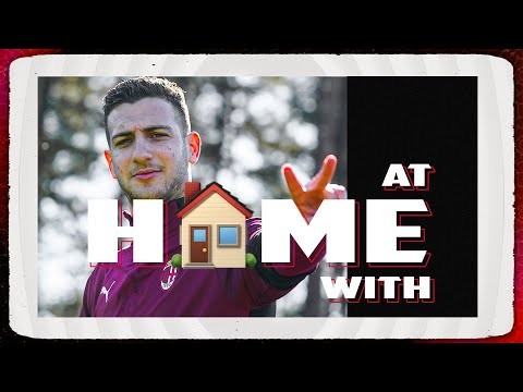 At Home With | Diogo Dalot - AC Milan
