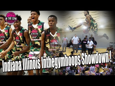 Indiana vs Illinois Showdown at Inthegymhoops Showcase (Full Highlights)
