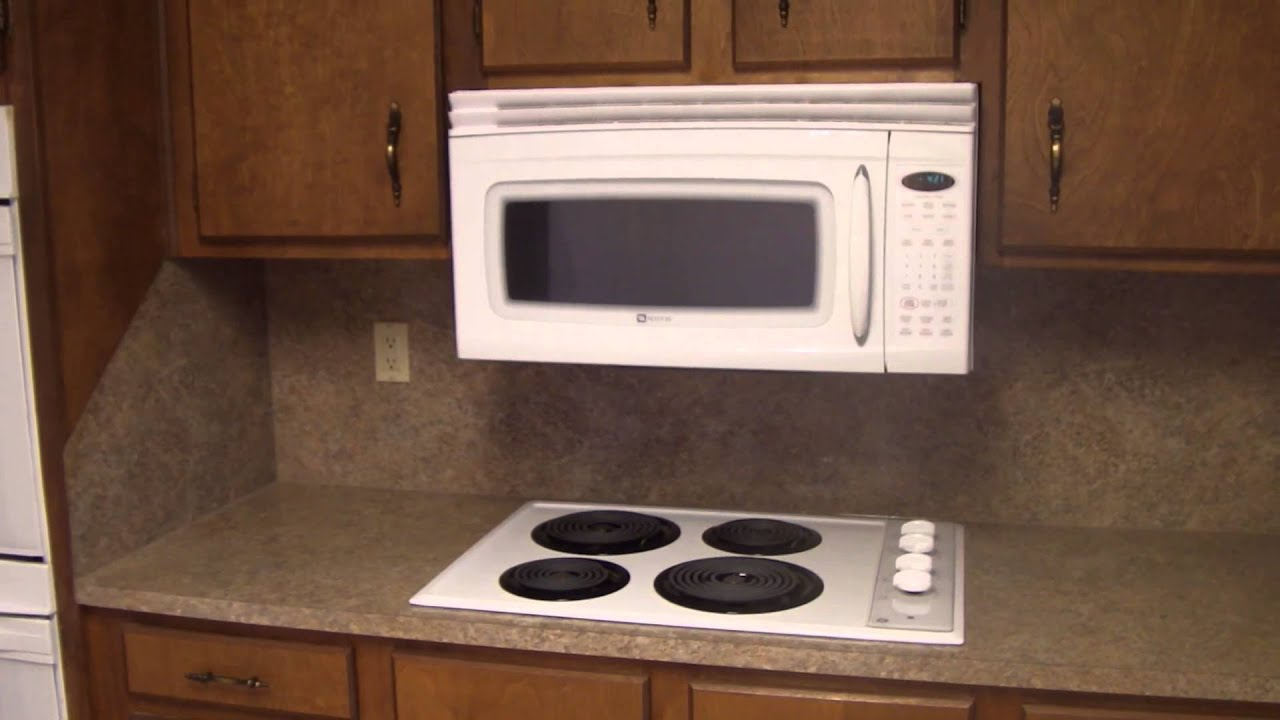 Home Inspector Charlotte Explains Kitchen Appliance Low Microwave Clearance Over Range Youtube
