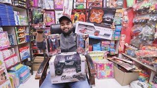 Wholesale/Retail Cheapest Toy's Market | Helicopter,Car,Robert | Toys market | Sadar Bazar Delhi