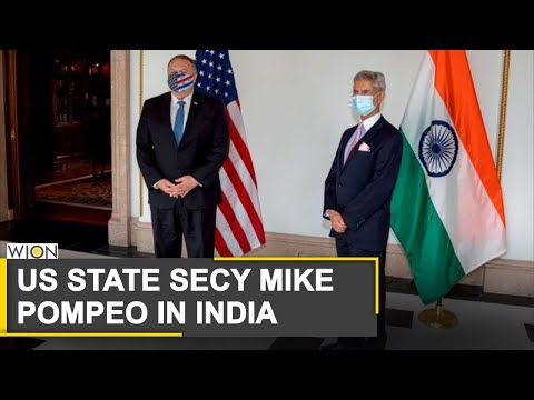 US Secretary of State Mike Pompeo arrives in New Delhi | India | World News | WION News