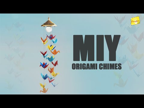 Origami wind Chimes | DIY | How to make Origami chimes