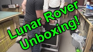 EEVblog #885 - Audi Quattro Lunar Rover Unboxing!(World's first unboxing of a lunar rover! The Audi Lunar Quattro moon rover, which is an entry in the Google Lunar X-prize. Scheduled for launch in 2017., 2016-05-30T08:39:48.000Z)