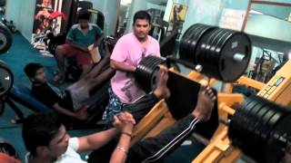 400kg leg press in shape and size gym in kalyan