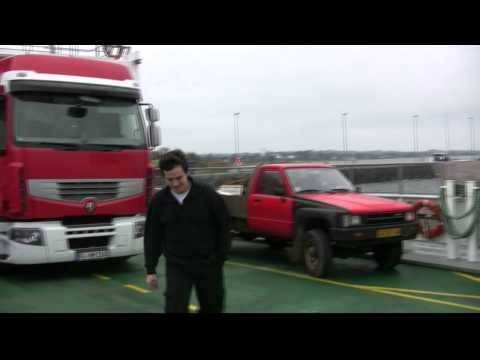 incarcare si transport container samota in port hamburg