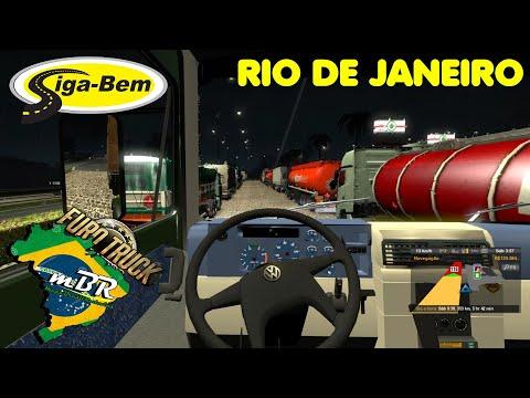 ETS 2 BR - ESTRADA LONGA, SENTIDO RIO DE JANEIRO !! #06