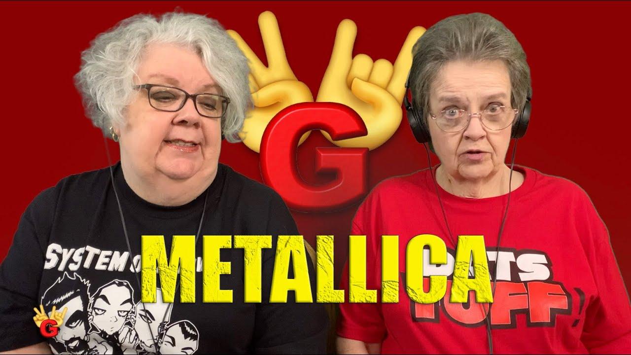 2RG - Two Rocking Grannies Reaction: METALLICA - ENTER SANDMAN (LIVE MOSCOW 1991)