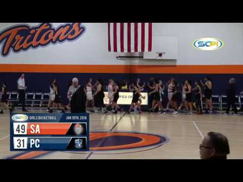 Southern Section Highlights: Pacifica Christian OC vs. Samueli Academy Girls Basketball