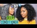 DIY Deep Conditioner for Natural Hair! Long + Healthy Hair