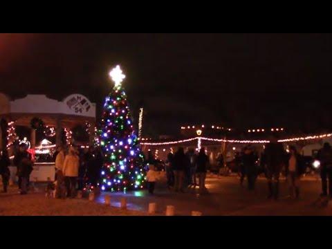 Mesilla Christmas Tree Lighting 2020 Old Mesilla, New Mexico, U.S.A. Christmas Tree Lighting December 7