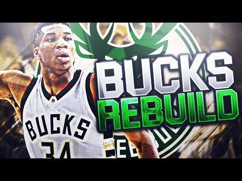 REBUILDING THE MILWAUKEE BUCKS! GIANNIS ANTETOKOUNMPO DYNASTY! NBA 2K18 MY LEAGUE