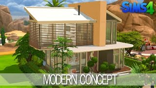 The Sims 4 House Building - Modern Concept - Speed Build
