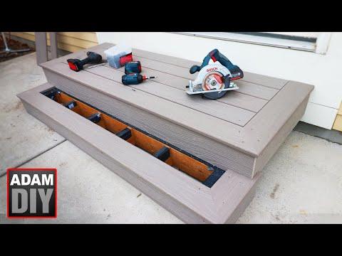 How To Build Porch Steps - Composite Decking