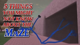 5 THINGS YOU DIDN'T KNOW ABOUT THE MAZE | BLUE WOOD SECRET! SECRET TUNNEL!!! Lumber Tycoon 2
