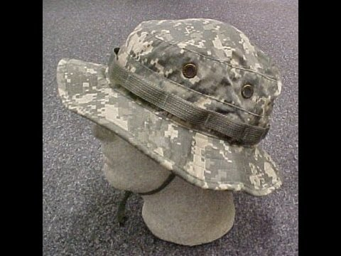 Boonie Hat - Review - Retex (French) Paracorde - Les sept brins.