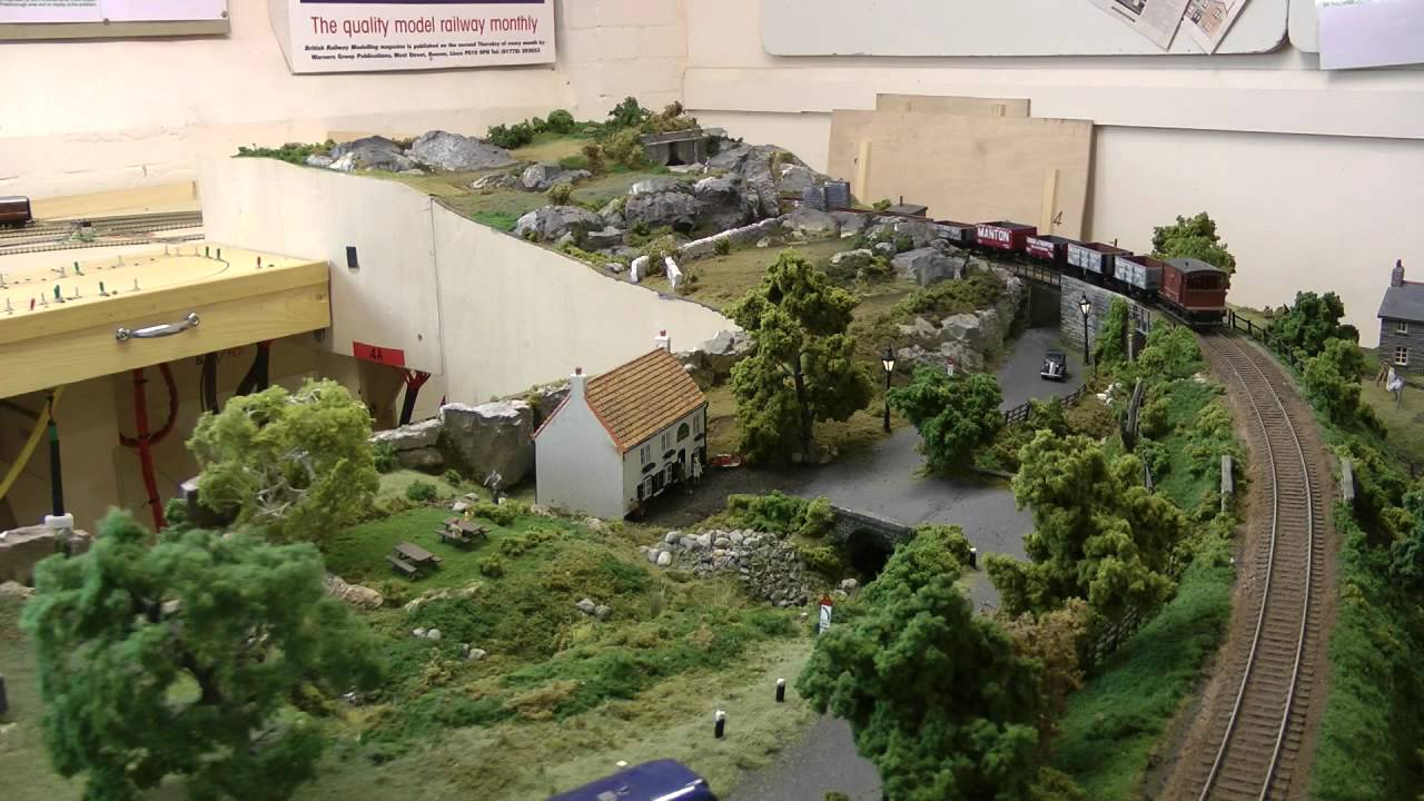 The Brm Project Layout Amberdale Layout In A Shed