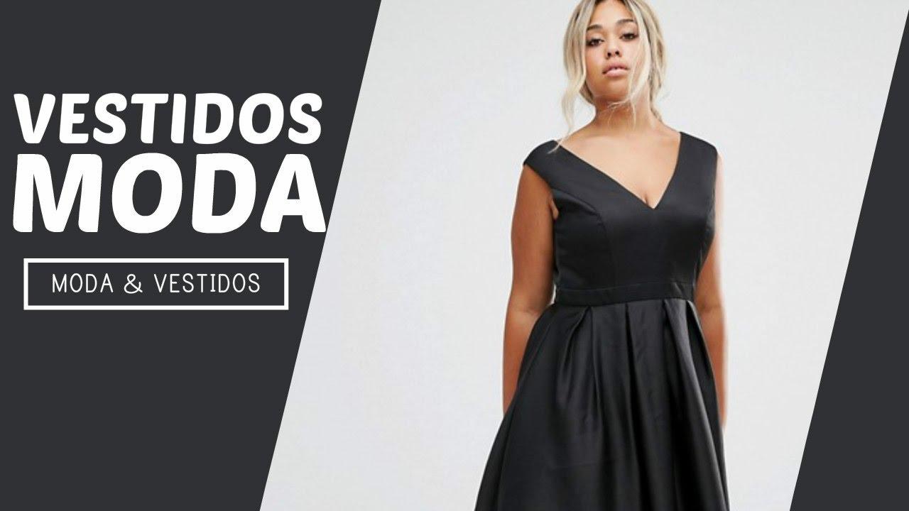 Moda vestidos para gorditas jovenes