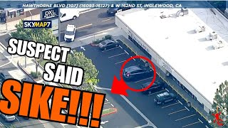 Police Chase! Cops OWNED by small Honda or Toyota Hatchback & Got Away