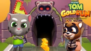 Talking Tom Gold Run Android Gameplay - Talking Tom Catch the Raccoon Ep 1 thumbnail