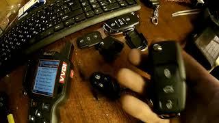 Сделал клон брелка сигнализации. VVDI Key Tool