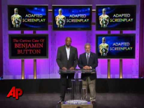 Raw Video: Oscar Nominations
