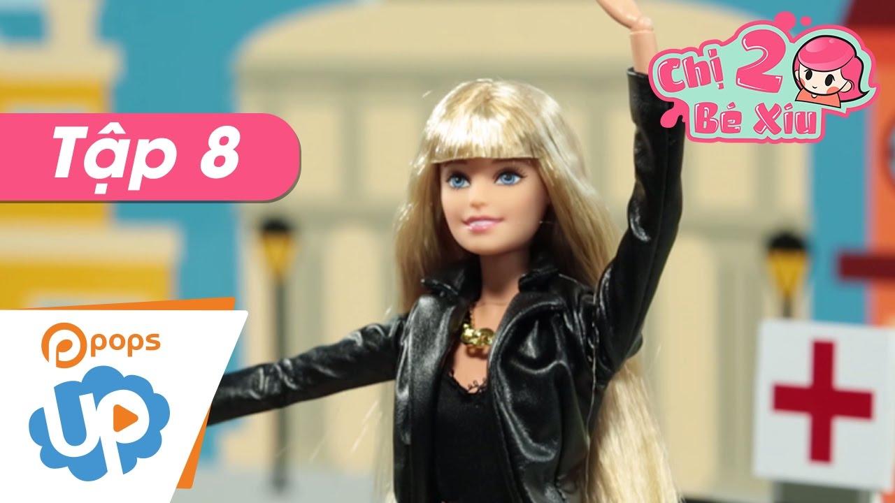 Chị Hai Bé Xíu - Tập 8 - Luật Giao Thông - Búp Bê Barbie