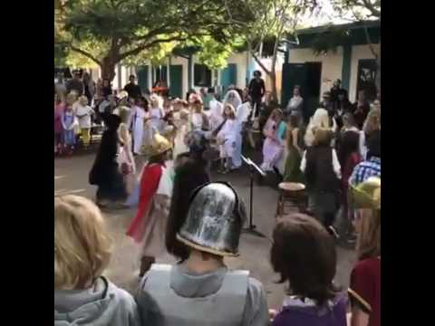 WOW Assembly at Sanderling Waldorf School 10/31/16
