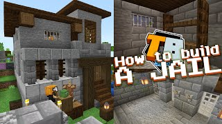 How to build a jail! - Truly Bedrock #23 Minecraft Bedrock Edition SMP