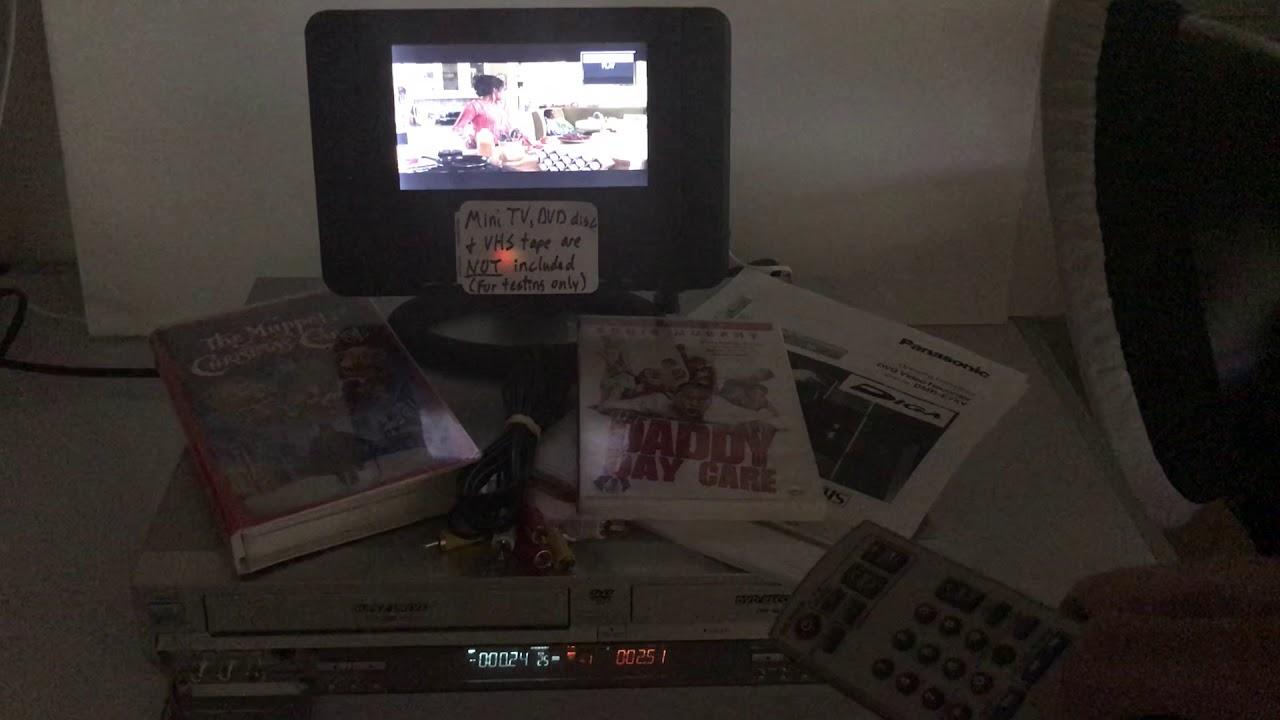 Panasonic dmr e75v dvd and vhs recorder. Saanich, victoria.