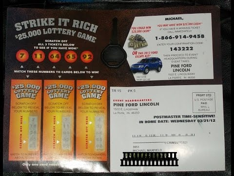 Car Dealership Scratch Off Ad Win $25,000 False advertising scam