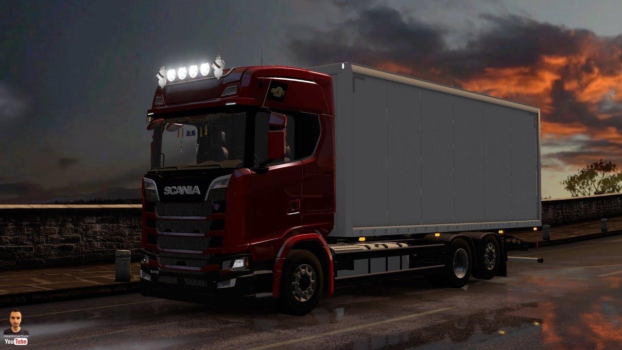 Ets2 1.28...PDT...Scania New Generation Mega Mod - BDF. ser. P.S.R