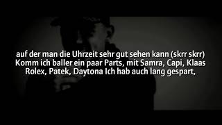 Capital Bra X Klaas - Die Gang ist mein Team (Official HQ Lyrics) (Text)