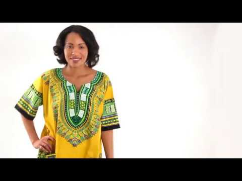 African Dashikis - their history and meaning
