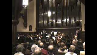 Corrette, Concerto Comique No. 1 for organ, Chamber Orchestra of New York