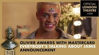 Layton Williams announces the date for the Olivier Awards 2019 Nominations