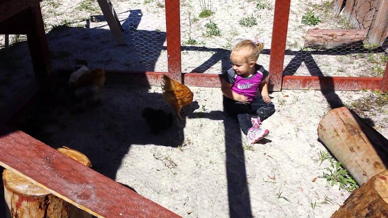 My little farmer princess - YouTube