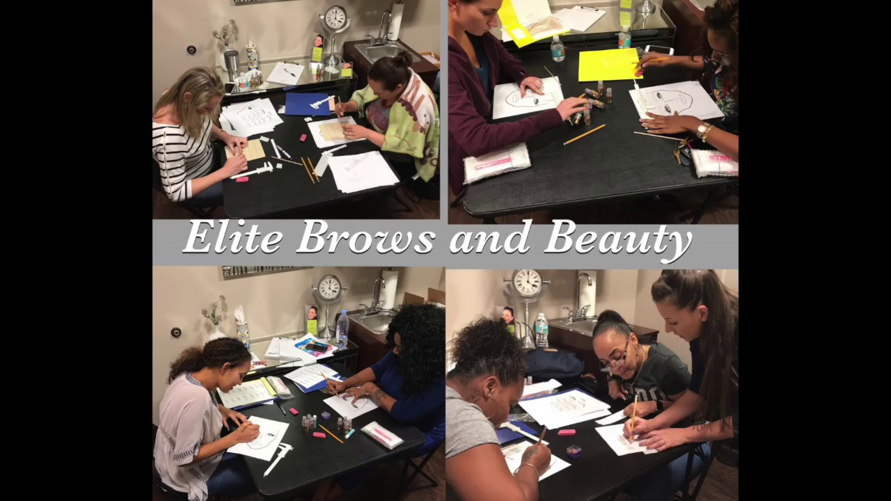 Elite Brows and Beauty - TRAINING