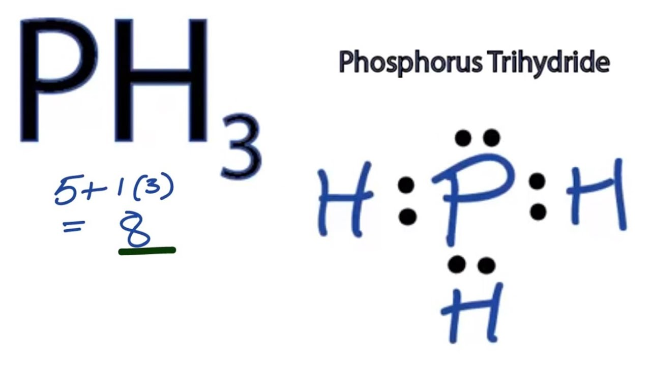 ph3 lewis structure how to draw the lewis structure for ph3 [ 1280 x 720 Pixel ]