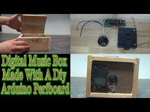 How To Make A Digital Music Box With Arduino