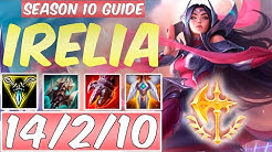 LEARN HOW TO PLAY IRELIA SEASON 10 | BEST Build & Runes | Season 10 Irelia guide | League of Legends