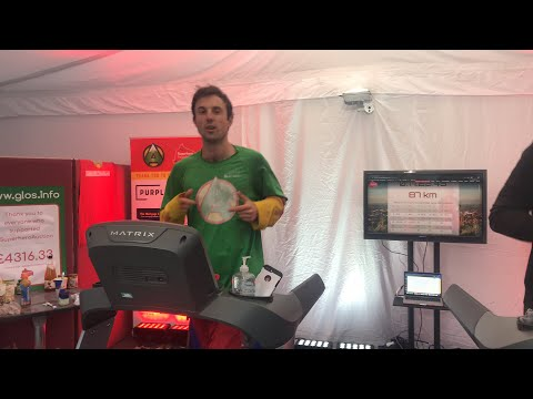 Live World Record Attempt - 'the greatest distance covered on a treadmill in 7 days'
